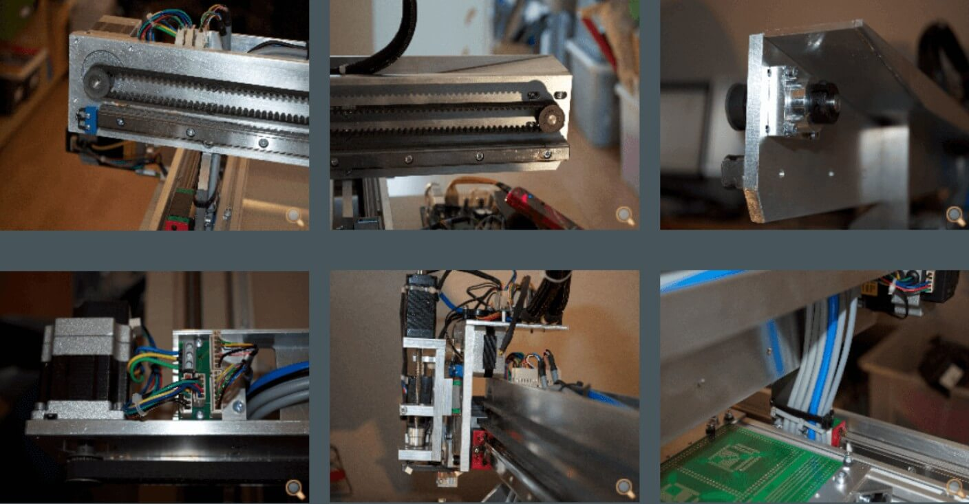 Desktop Pick and Place Machine_X-AXIS