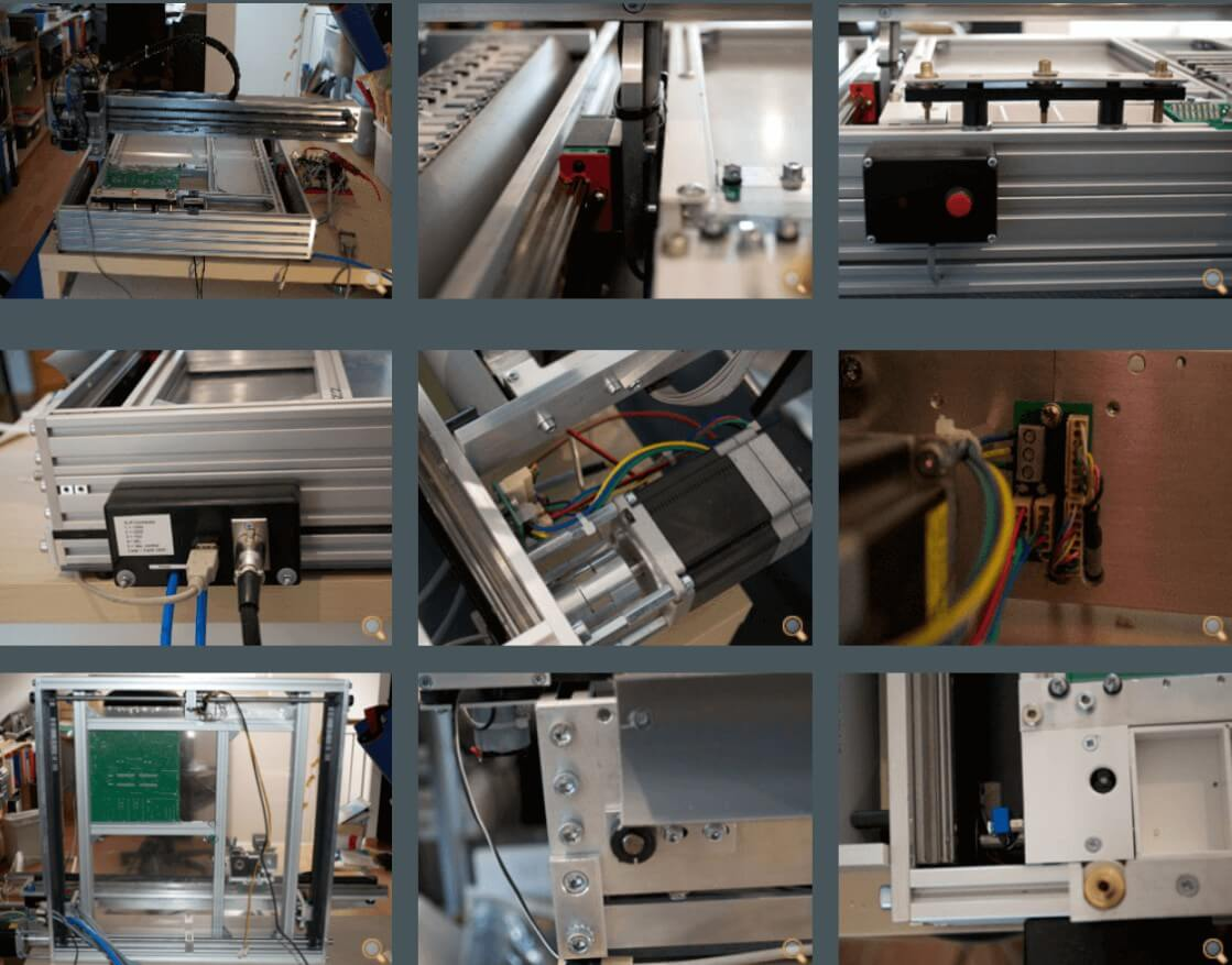 Desktop Pick and Place Machine_Y-Axis and Machine Bed